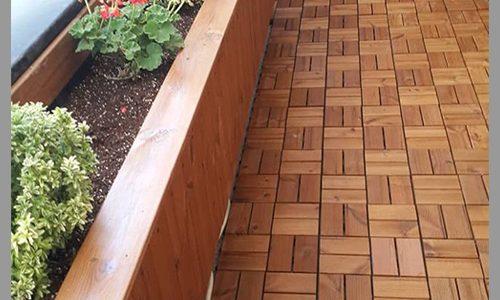 چوب ترمو در کف (deck)