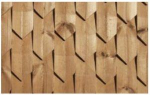 چوب ترمووود سه بعدی