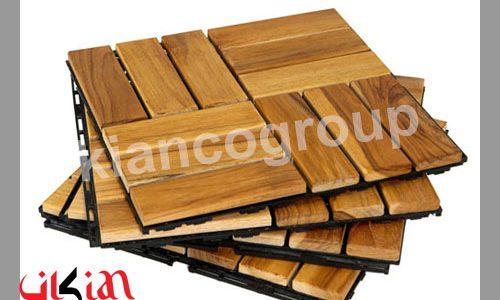 چوب ترمووود در کف