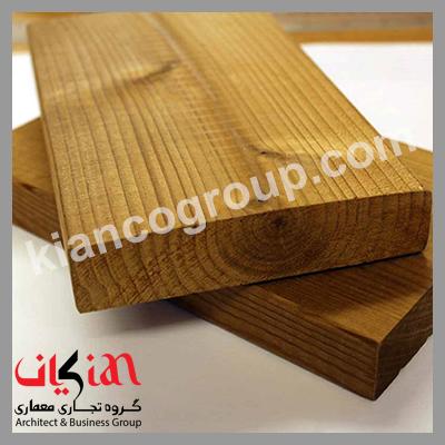 نصب چوب ترمو در نما