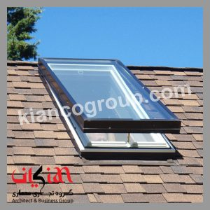 skylight-در-نمای-ساختمان