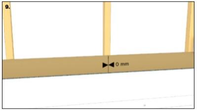 نصب افقی ترمو در نمای ساختمان