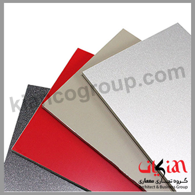 ورق کامپوزیت آلومینیومی با پوشش PVDF
