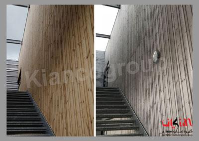 چوب ترمووود در دکوراسیون داخلی